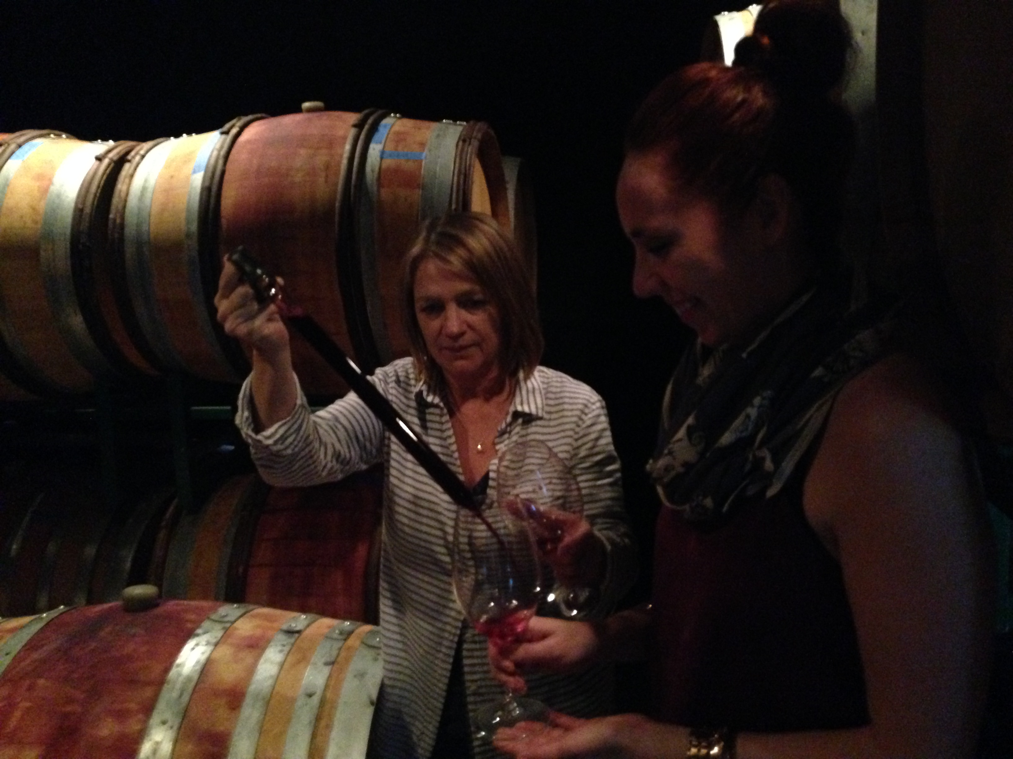 Straight from the Barrel with Hilarie at Harrison Clarke