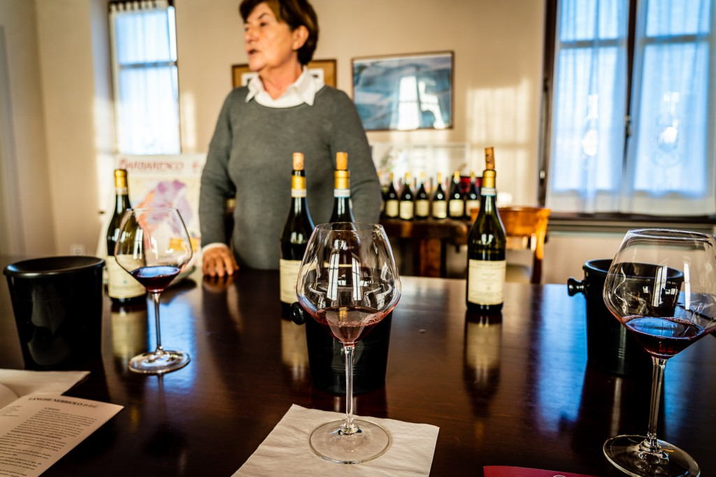 Wine Tasting at Sottimano Wind with Claudia Sottimano