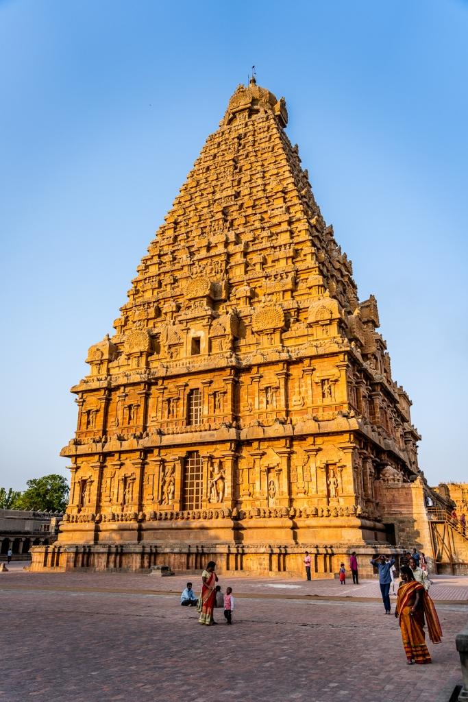 Brihadisvara Temple in Tamil Nadu, India