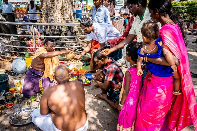 Travel India Amma Mandapam Ritual Center