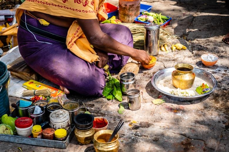 Travel India Amma Mandapam Ritual Center Brahmin