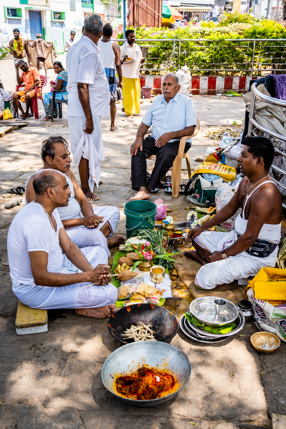 Travel India Amma Mandapam Ritual Center