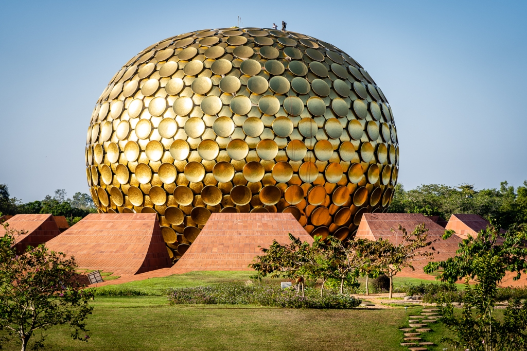 Matrimandir in Auroville, City of the Dawn