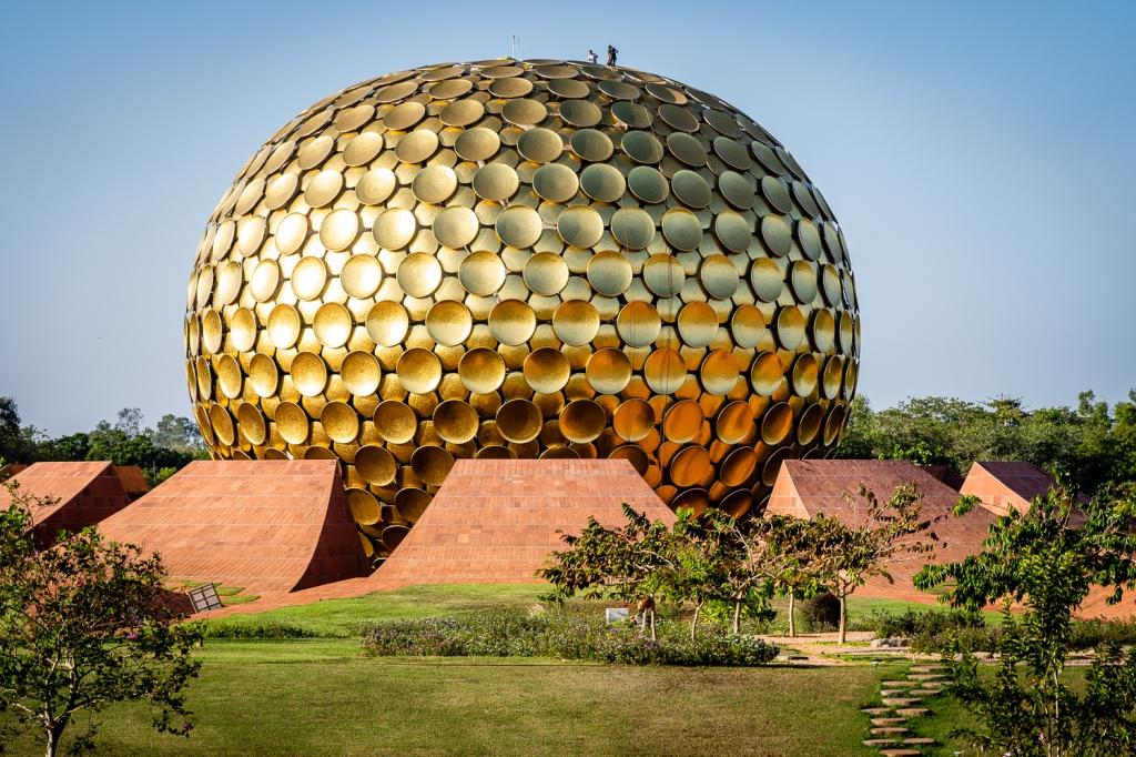 Matrimandir in Auroville, City of the Dawn