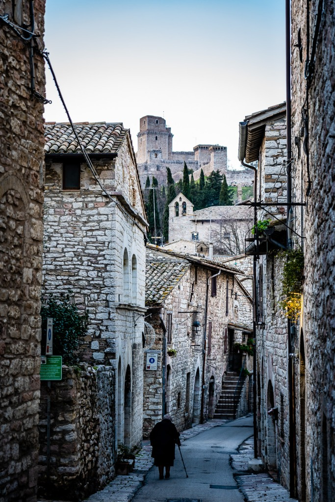 Assisi Italy Residents