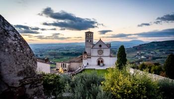 Assisi Italy Photos Basilica of Saint Francis of Assisi
