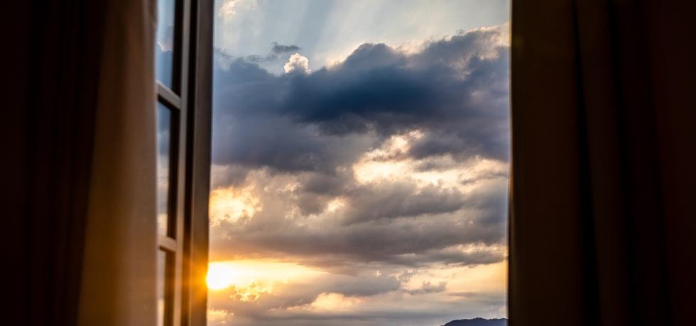 View from Hotel Villa Carlotta