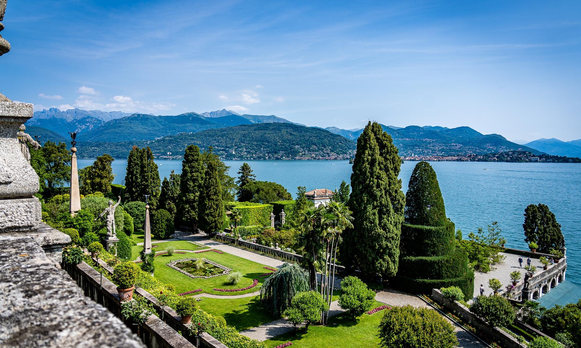 Isola Bella Garden Lago Maggiore