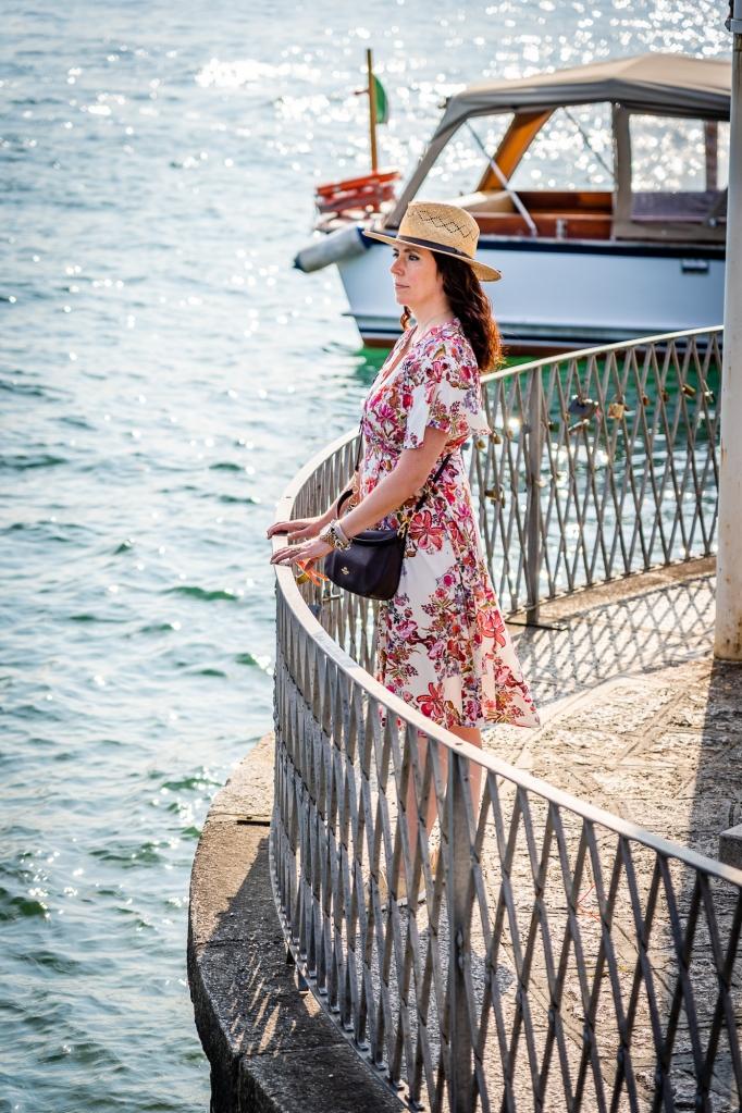 Brandy Shearer in Lago Maggiore
