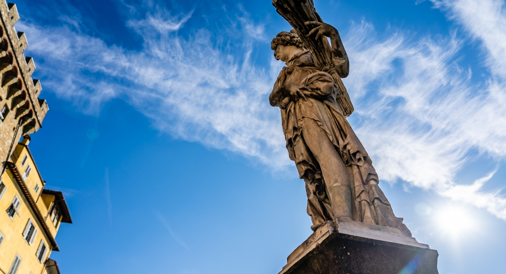Italy Pic of the Day Statue Summer in Florence