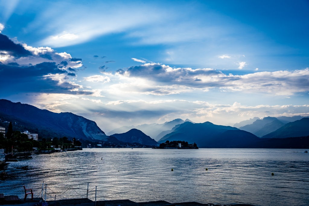 Lago Maggiore, Italy Early Evening
