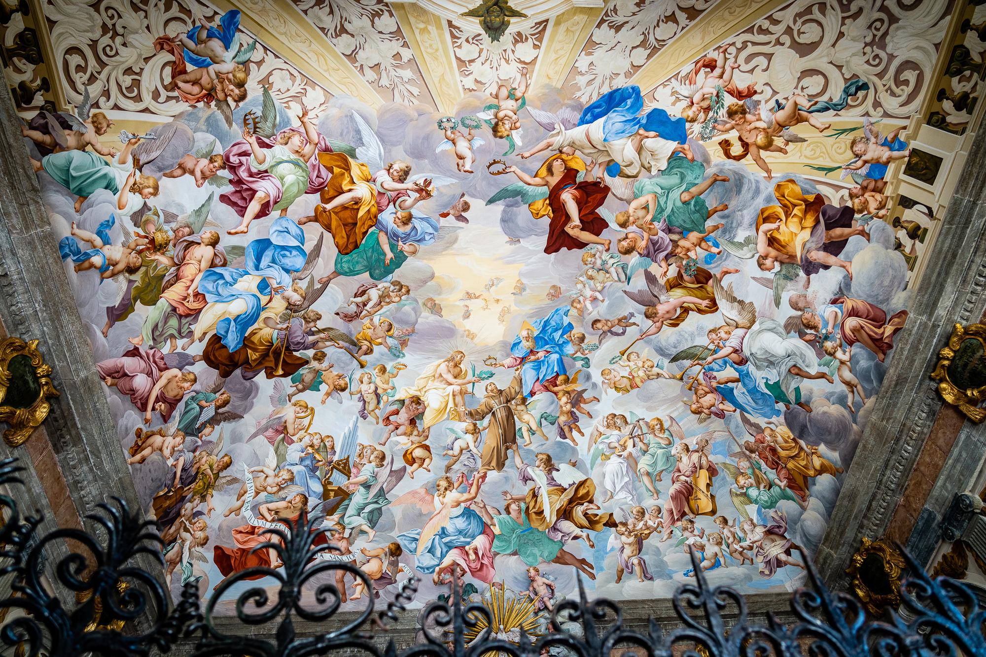 Lago d'Orta Italy Sacro Monte Frescos