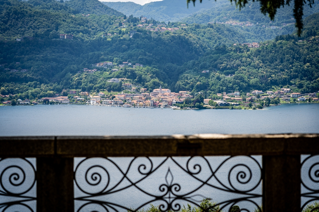 Lago d'Orta as seen from San Nicolao hill