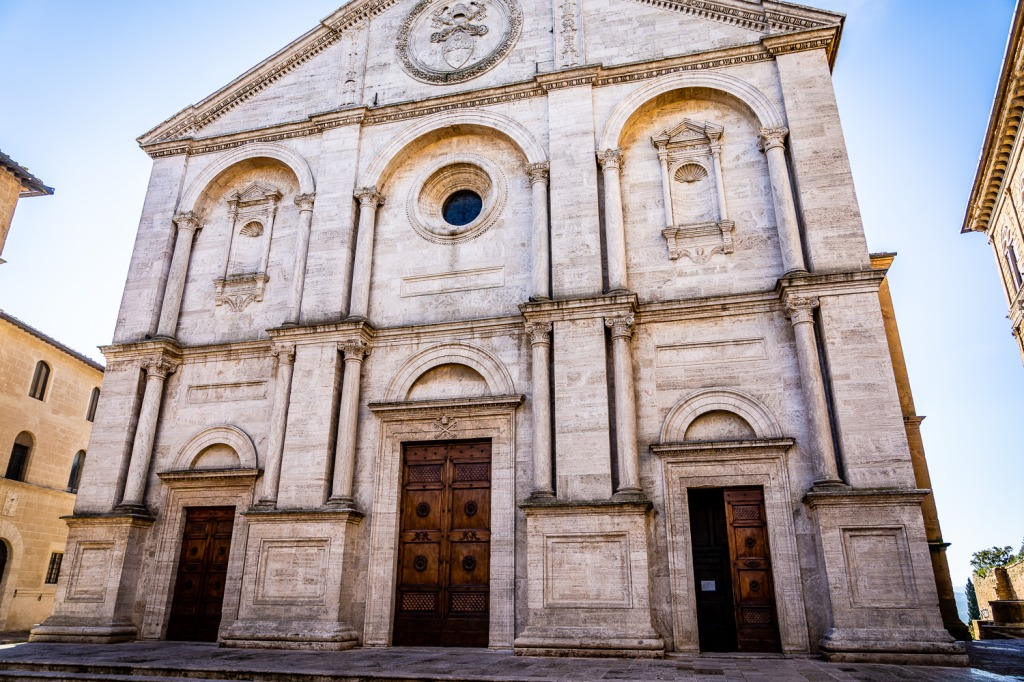 Pienza Italy Photos Cattedrale dell'Assunta (Cathedral) in Pienza