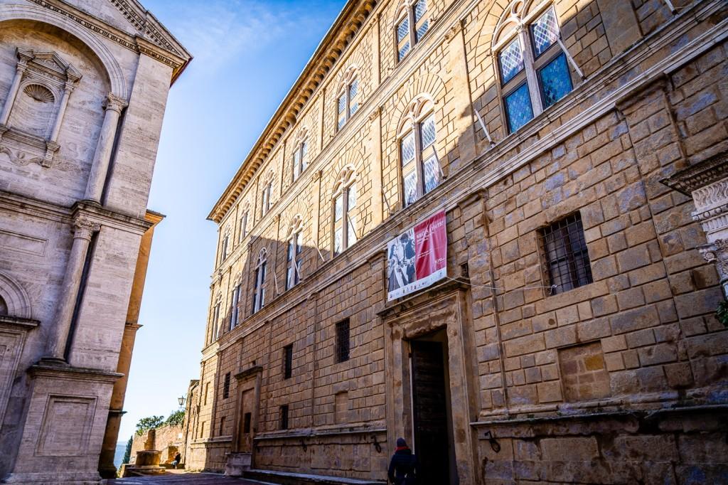 Pienza Italy Photos, Piccolomini Palace