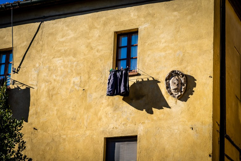 Pienza Italy Photos Laundry hanging