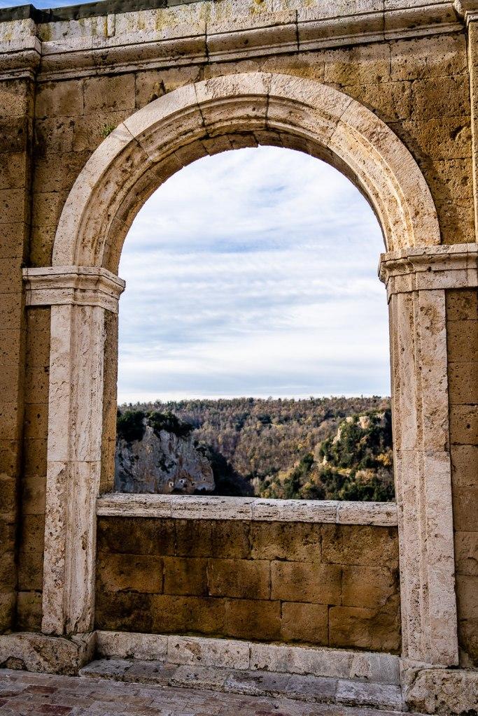 Archway of Sorano Italy