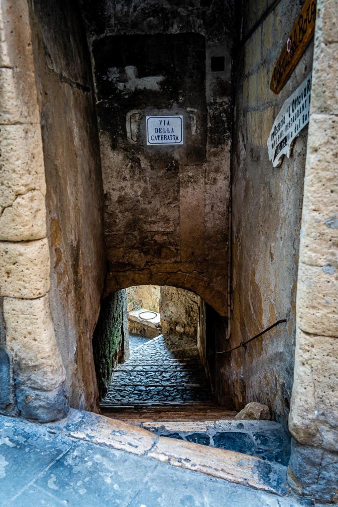Sorano Italy Alley Photo