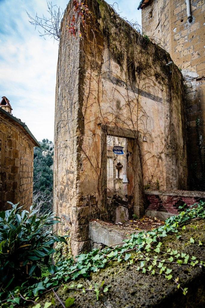 Sorano Italy Abandoned Home