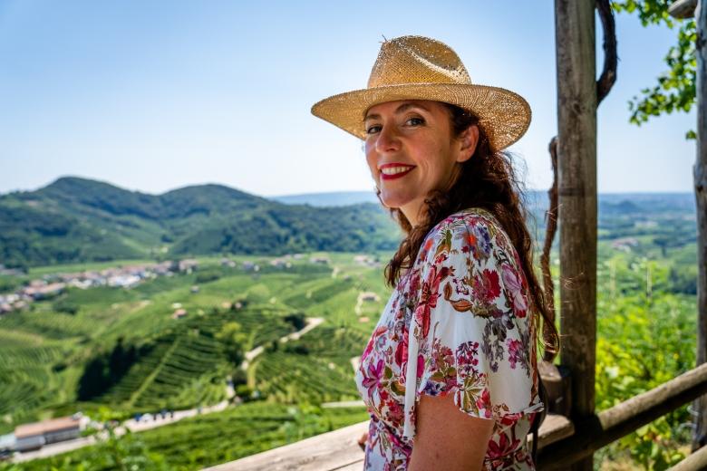 Italy Pic of the Day Conegliano Valdobbiadene View