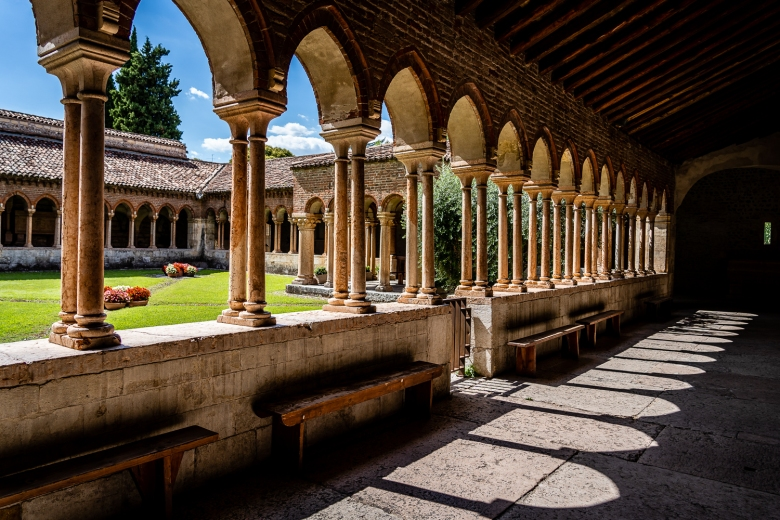 Italy Pic of the Day Basilica di San Zeno Maggiore Courtyard