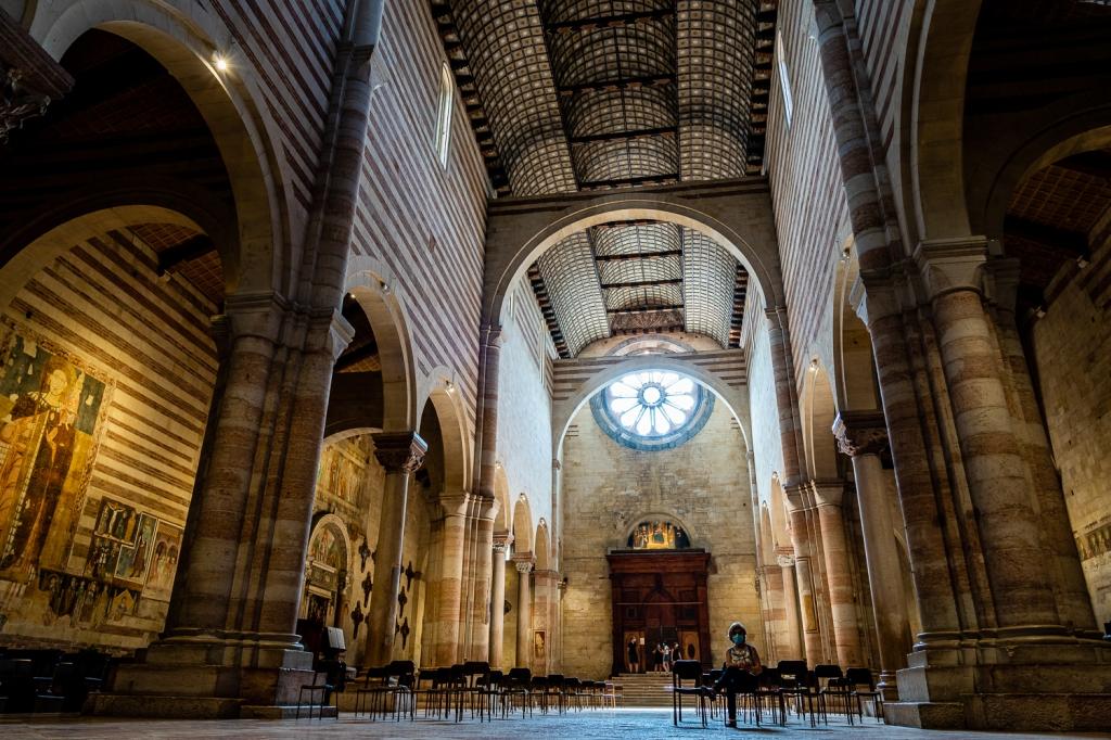 Italy Pic of the Day Basilica San Zeno arches