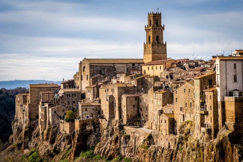Italy Pic of the Day Pitigliano Landscape