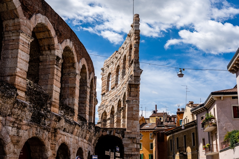 Italy Pic of the Day Verona Arena Wall