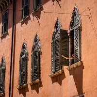 Italy Pic of the Day Verona Romeo in Window