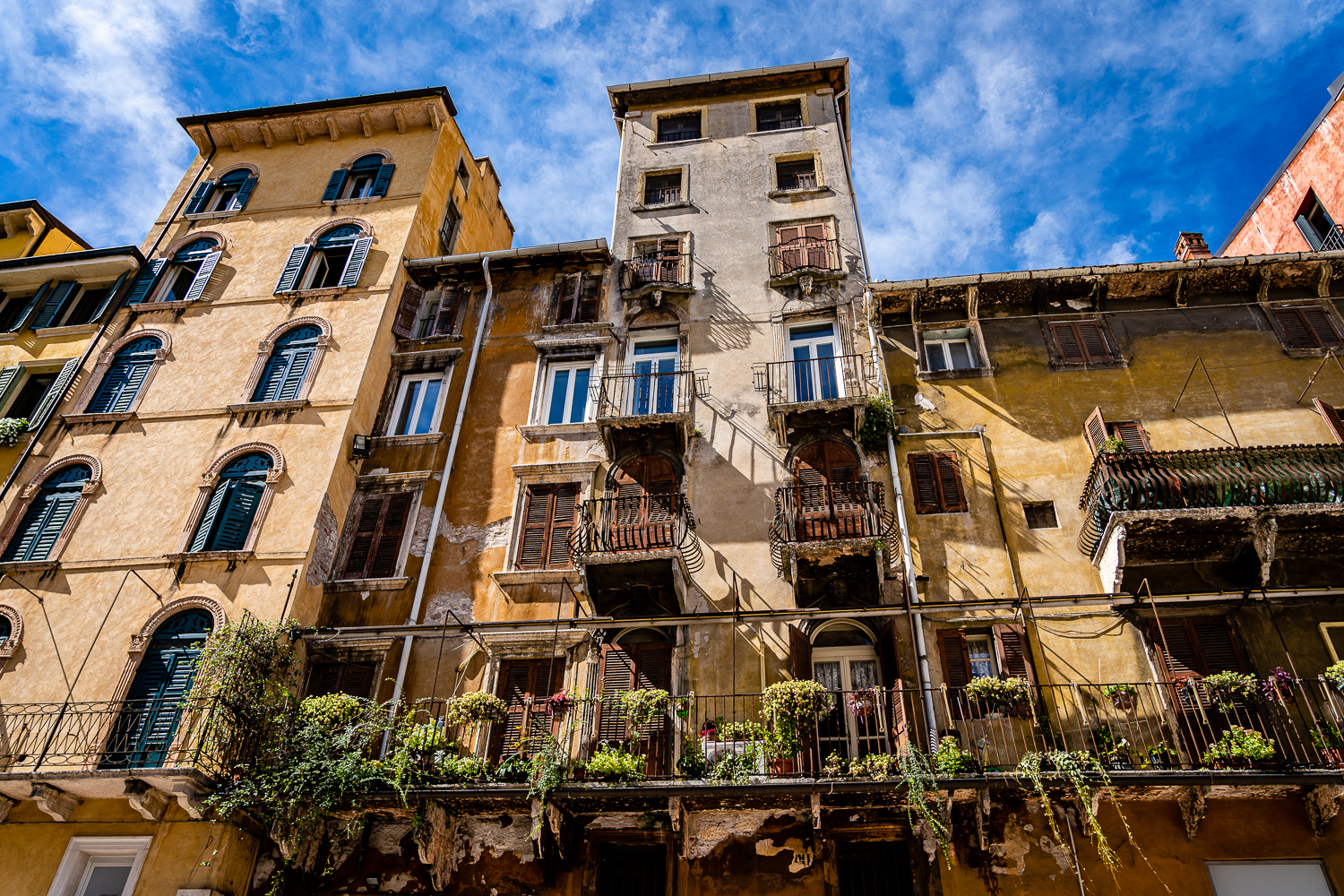 Italian Homes vs American Homes Balconies and Porches