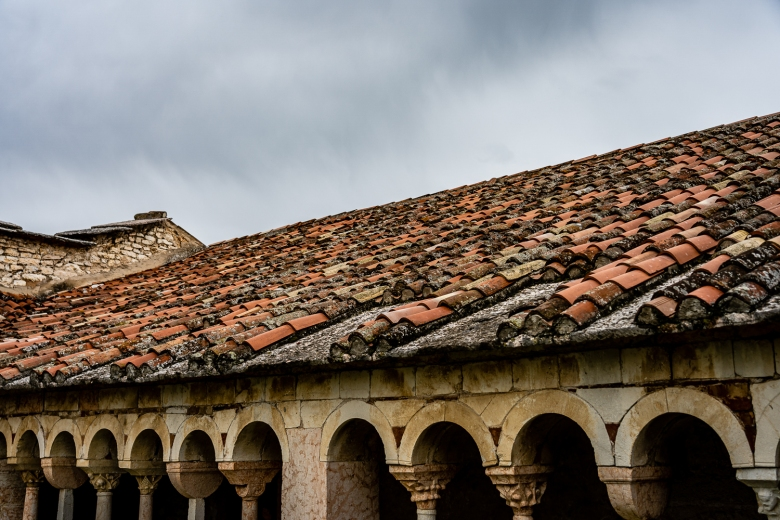 Italy Pic of the Day Pieve di San Giorgio di Valpolicella Cloister Roof