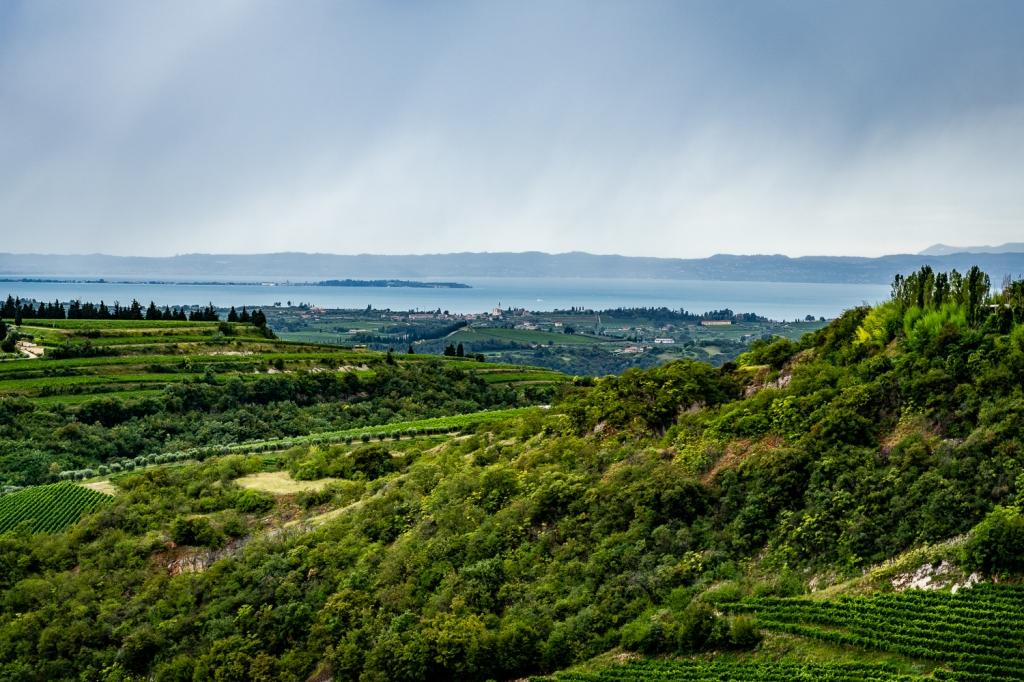 Italy Pic of the Day San Giorgio di Valpolicella View Lake Garda