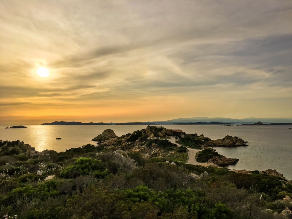 Italy Pic of the Day Sardinia Sunset Over Water