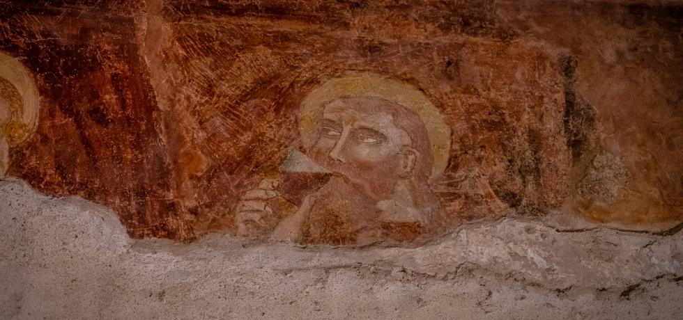 Pieve di San Giorgio di Valpolicella Last Supper Fresco