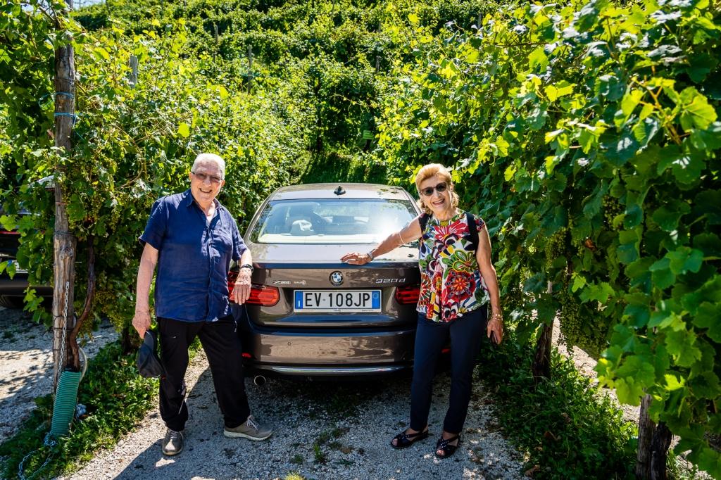Italy Pic of the Day Valdobbiadene, Prosecco & UNESCO Parking