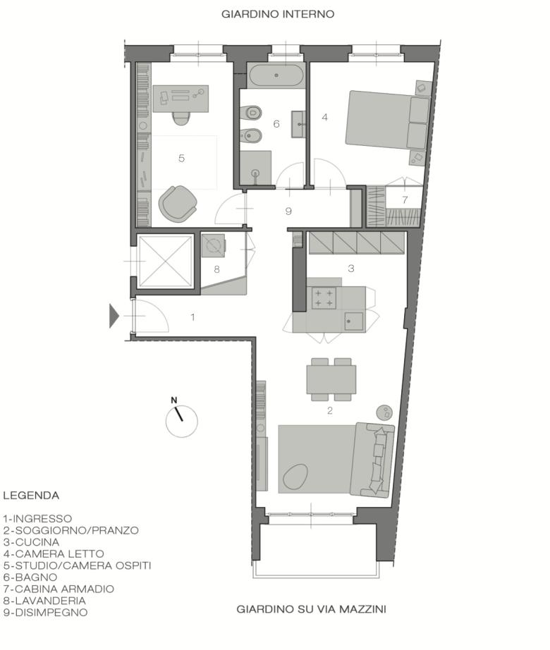 Italian Home Renovation Floor Plans Opt A Renovating Bardonecchia
