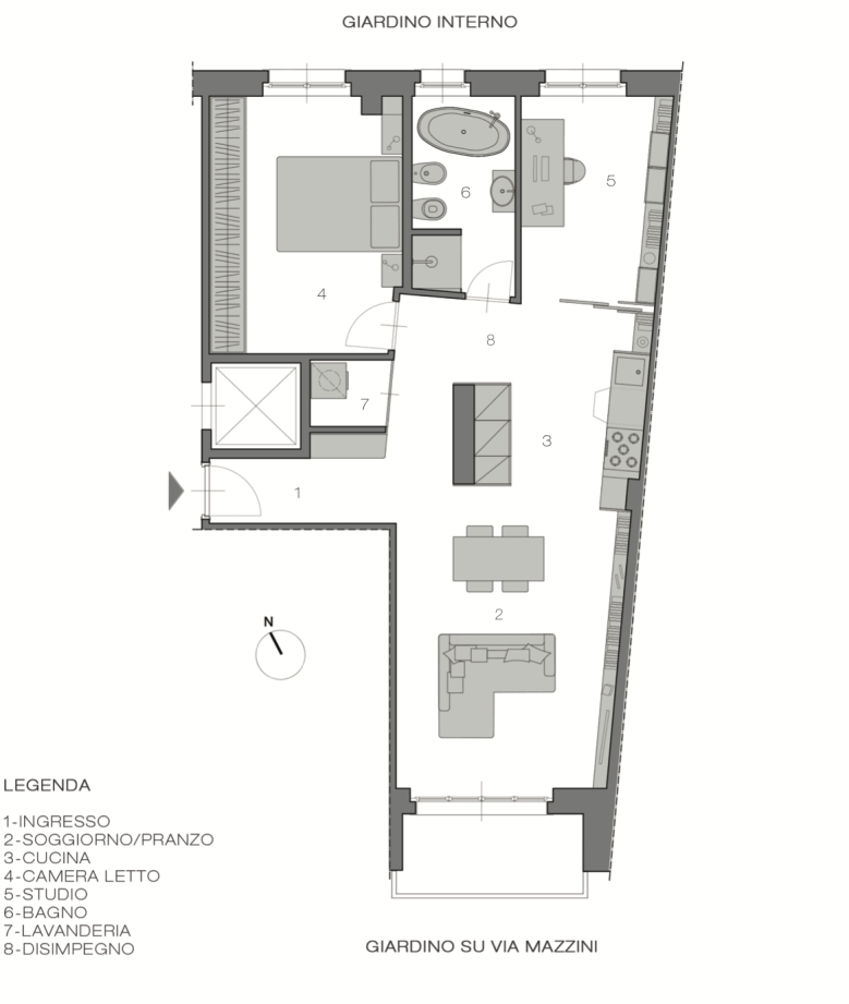 Italian Home Renovation Floor Plans Opt C Renovating Bardonecchia