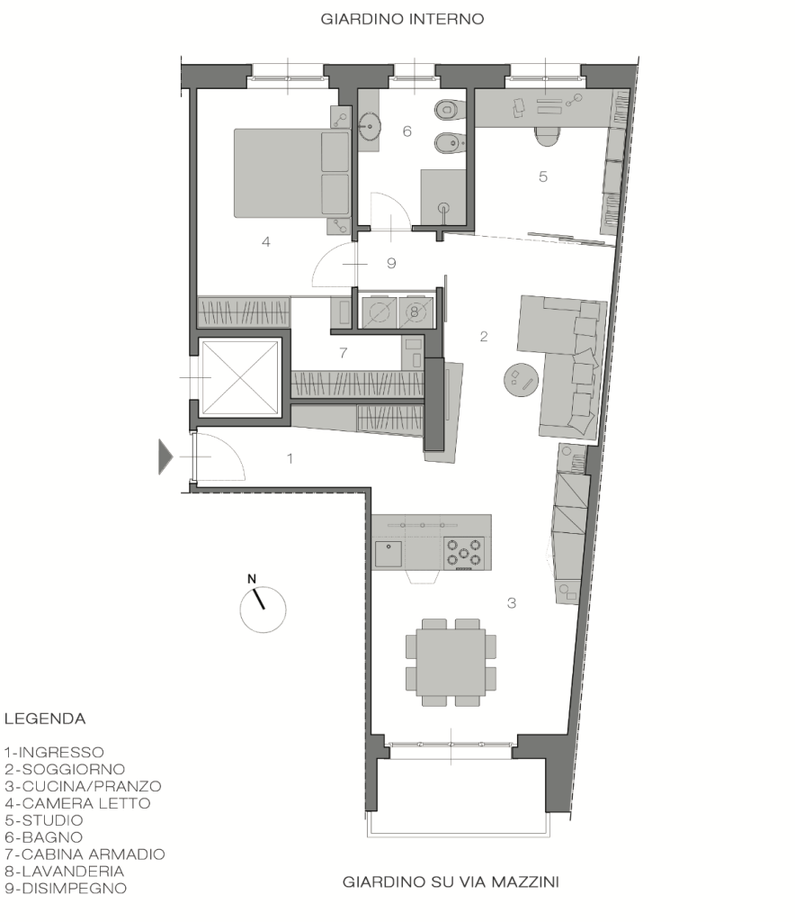 Italian Home Renovation Floor Plans Opt D Renovating Bardonecchia