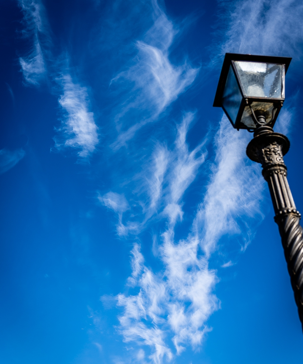 Italy Pic of the Day Street Light Florence