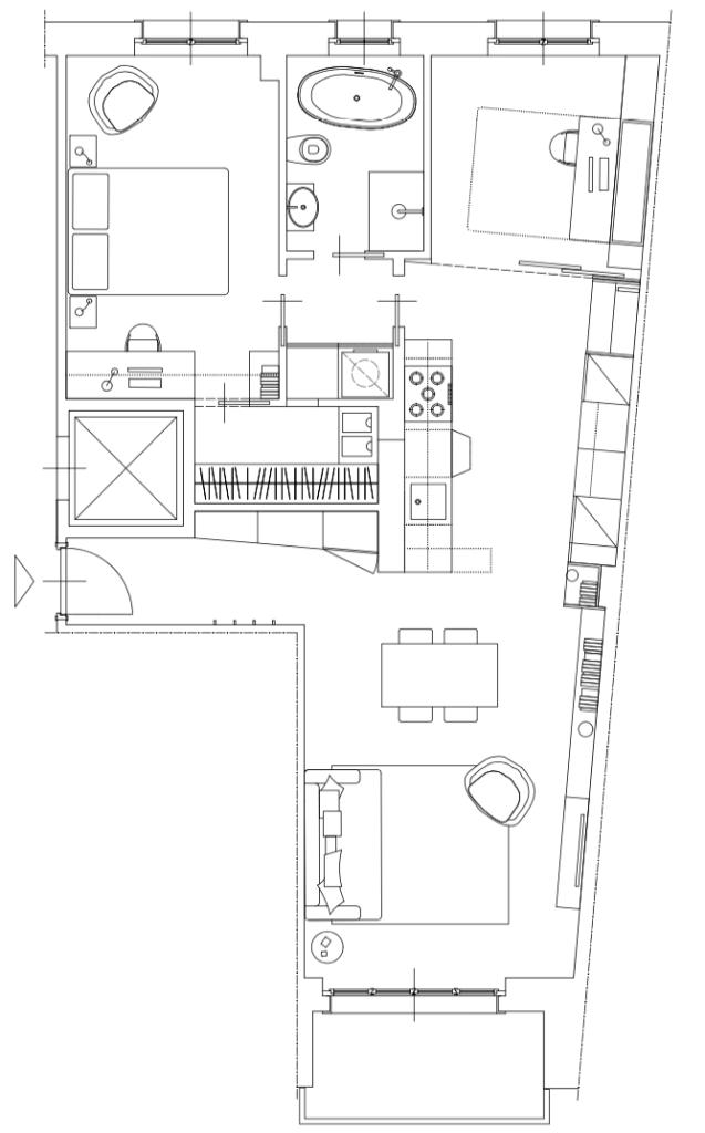 Italian Home Renovation Floor Plan 2