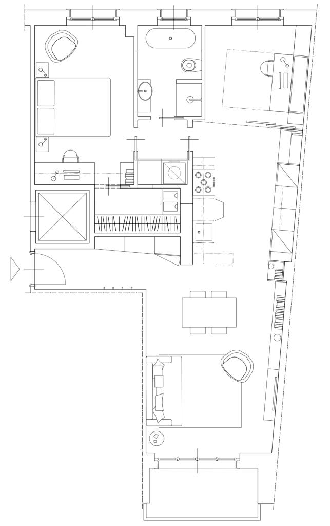 Italian Home Renovation Floor Plan 3