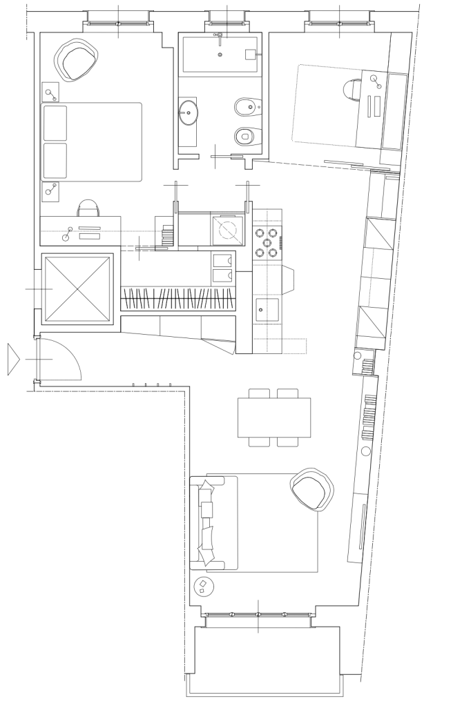 Italian Home Renovation Floor Plan 4