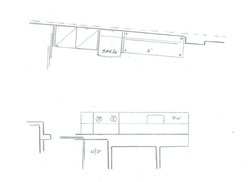 Italian Home Renovation Floor Plan Kitchen Island