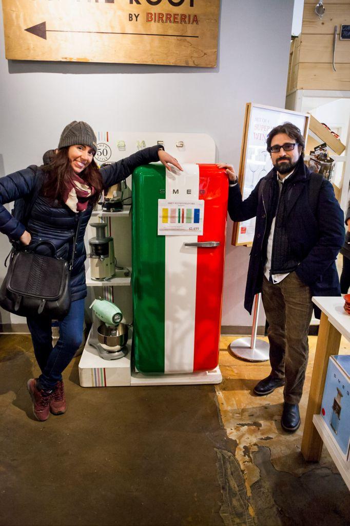 SMEG Fridge Italian Home Renovation