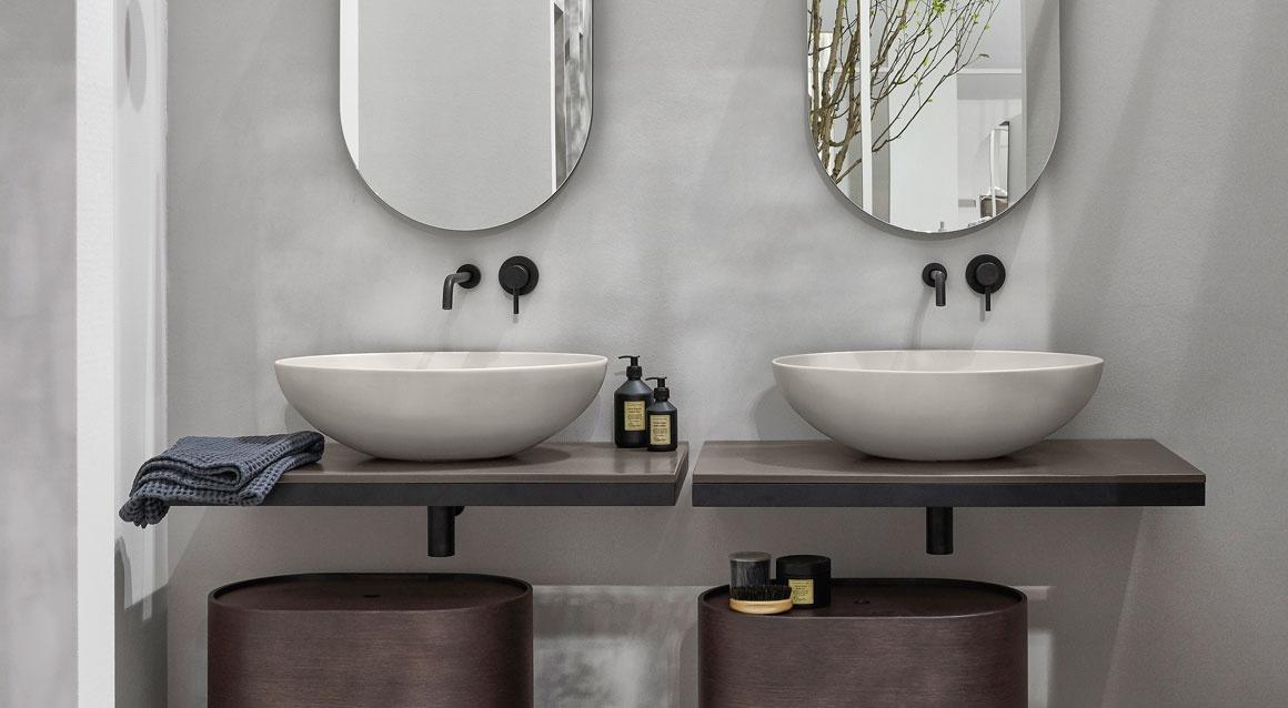 Italian Home Reno Bathroom Sink Bacinella Cielo Ceramica
