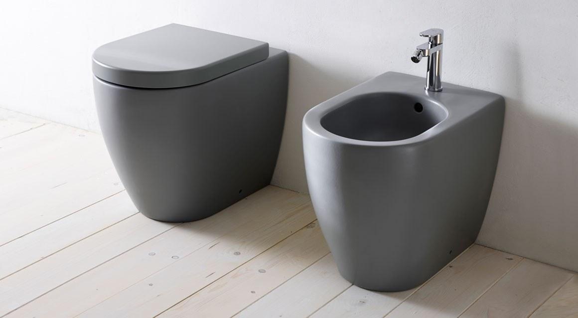 Italian Home Renovation Smile Toilet Bidet Ceramica Cielo