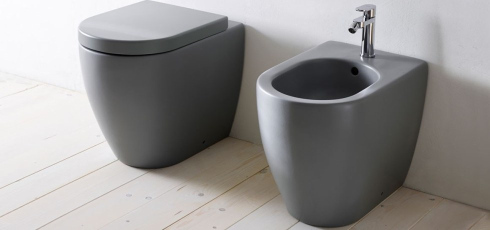 Italian Home Renovation Smile Toilet Bidet Ceramica Cielo