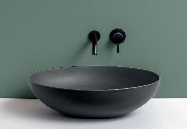 Italian Home Renovation Bathroom Sink Le Bacinelle Ceramica Cielo