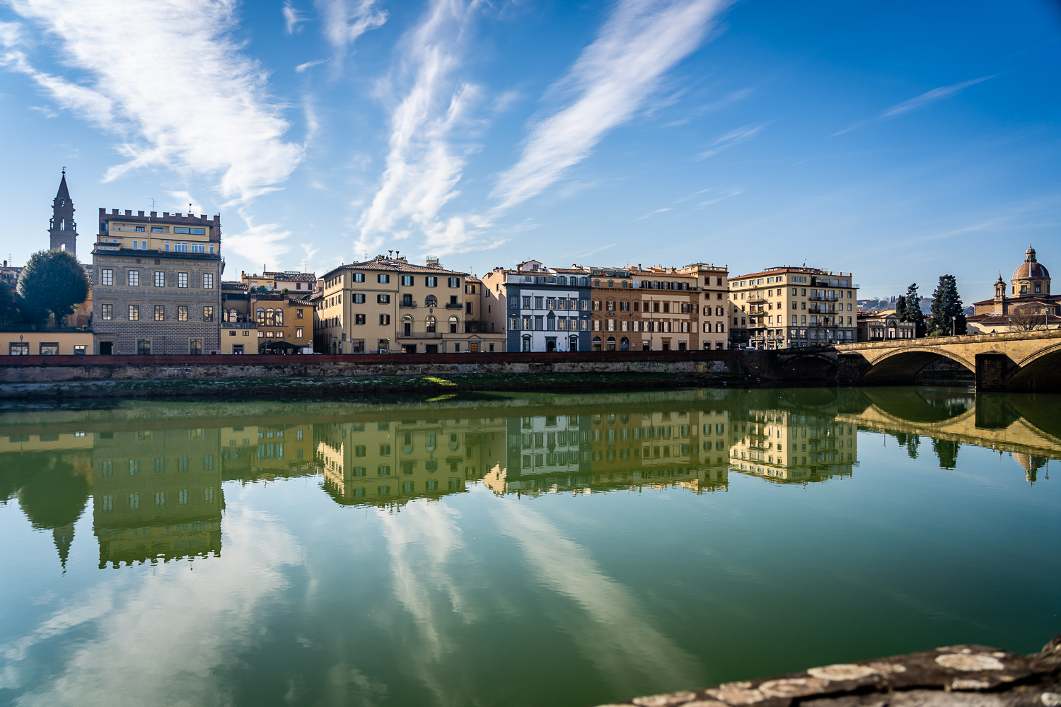 Italy Pic of the Day Florence Renaissance Arno River