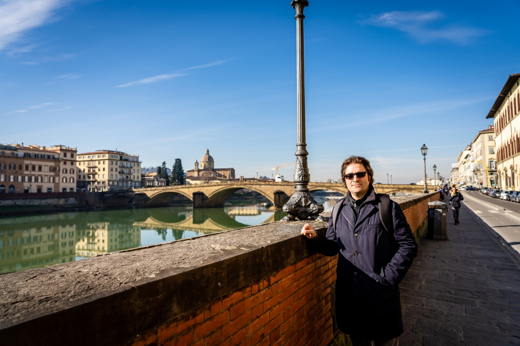 Italy Pic of the Day Photographer Paolo Ferraris in Florence by the River Arno